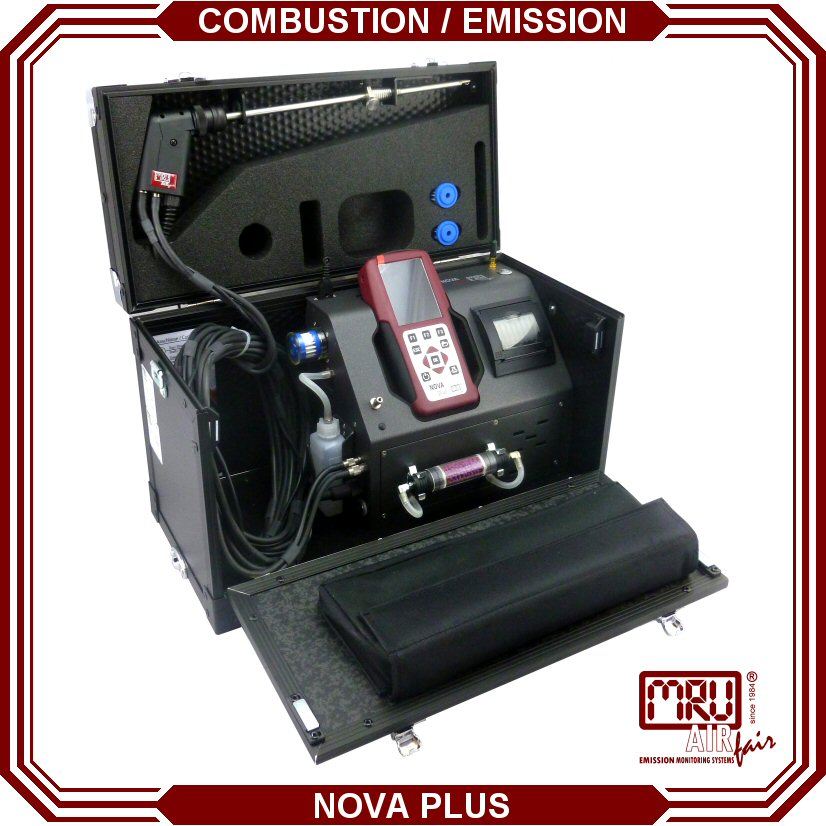 NOVA PLUS PORTABLE EMISSION ANALYZER